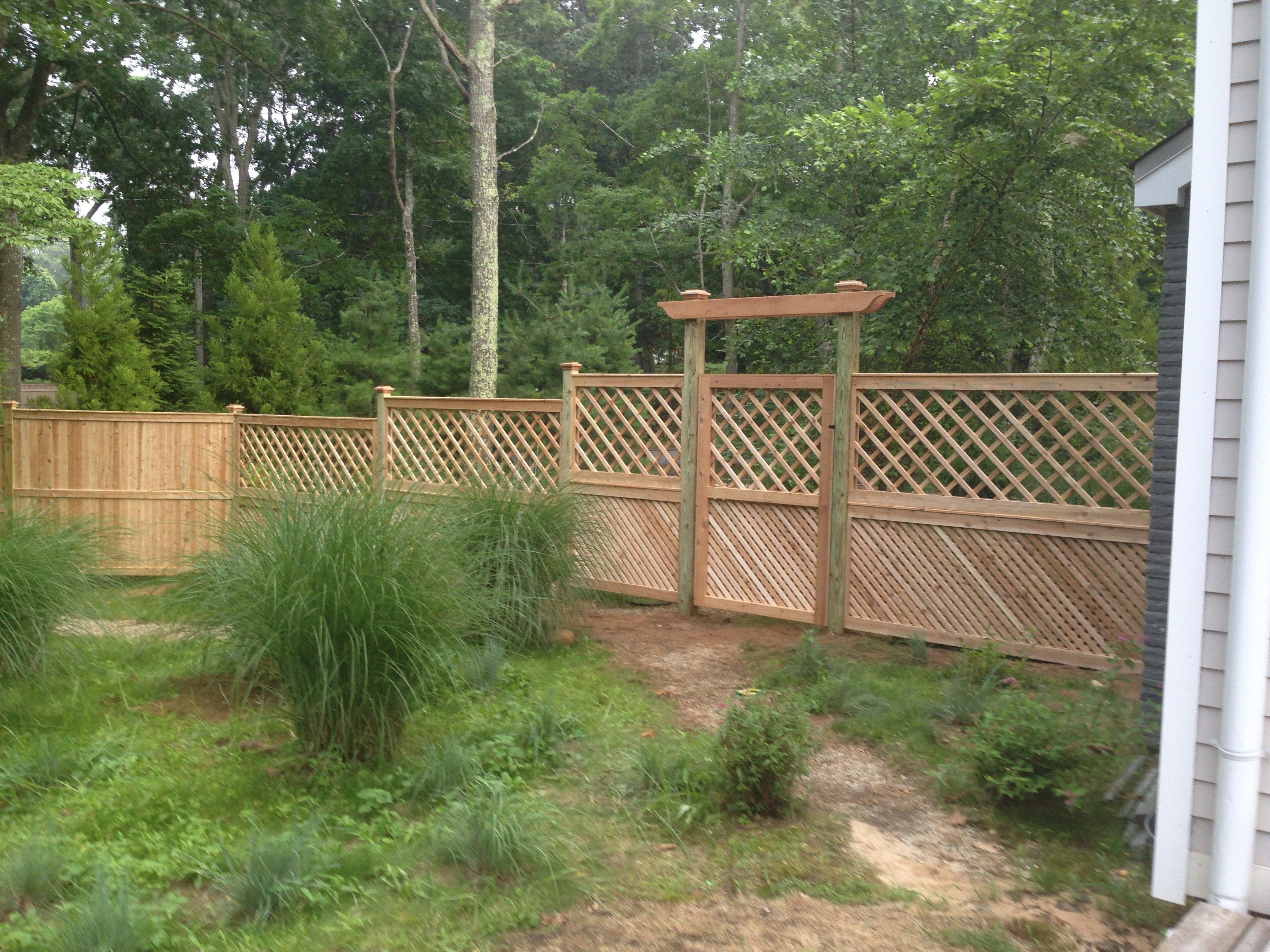 Custom Gates Amendola S Fence