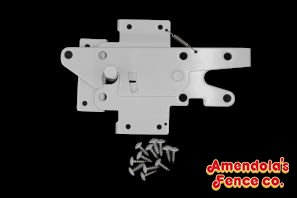 STAINLESS STEEL POST LATCH WITH STRIKER